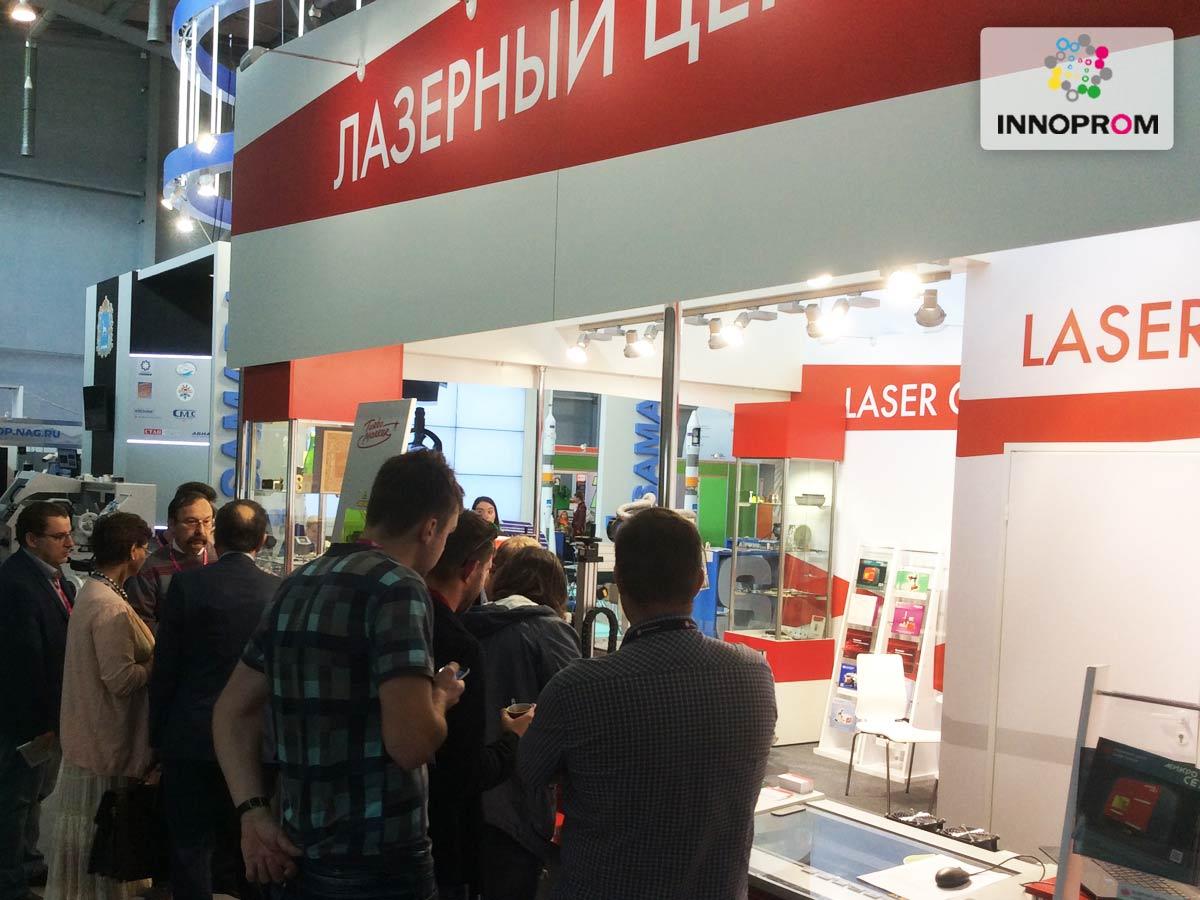 Иннопром 2016 - лазерные станки и технологии от компании Лазерный Центр (СПб)