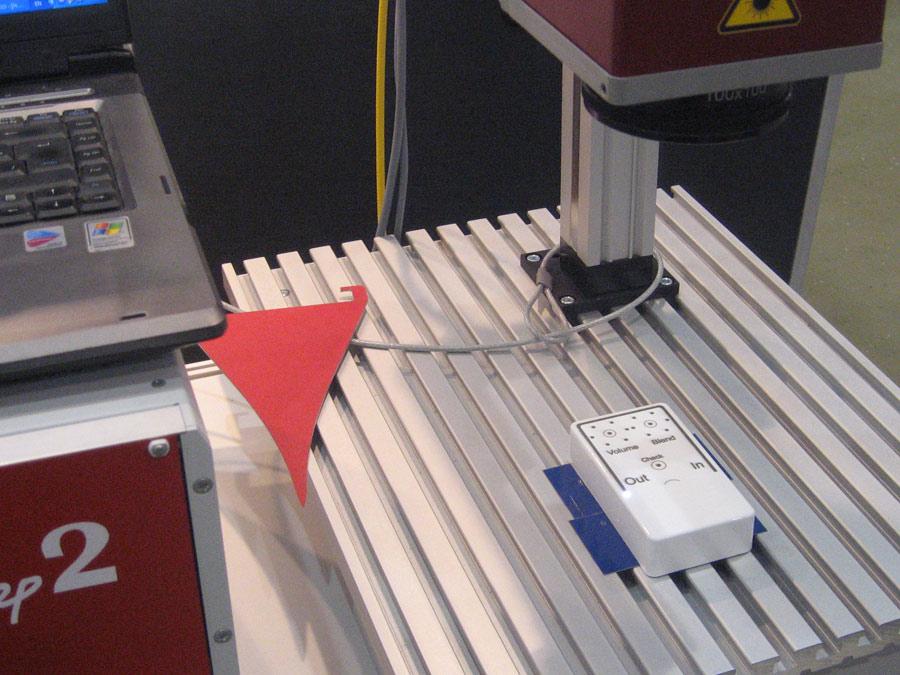 лазерная маркировка на корпусе прибора - МиниМаркер 2 - Лазерный Центр