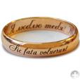 надпись на обручальном кольце: я люблю тебя