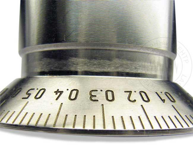 лазерная маркировка линейных и круговых шкал