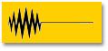 цвет tesa laser желтый, цвет надписи - черный